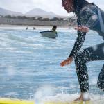 surfanje dvig na desko