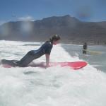 surfanje na kolenih
