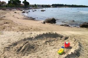 zambratija peščena plaža