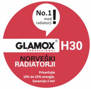 Glamox-H30-nalepka
