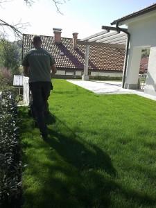 Urejanje okolice hiše - Skerca