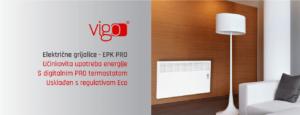 električni radijatori Vigo EPK