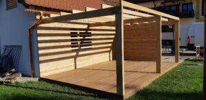 Lesene terase Onis